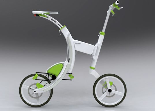 Pedal Power Electric Bike Concept - Electric Vehicle Rider