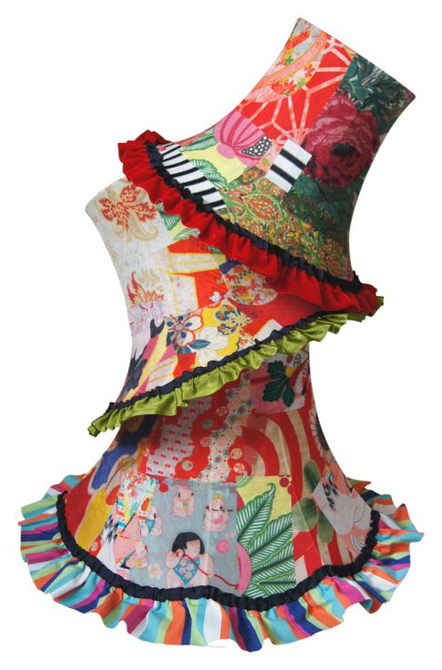 Gorgeous, happy madhatter lampshades from Squint Limited. www.squintlimited.com