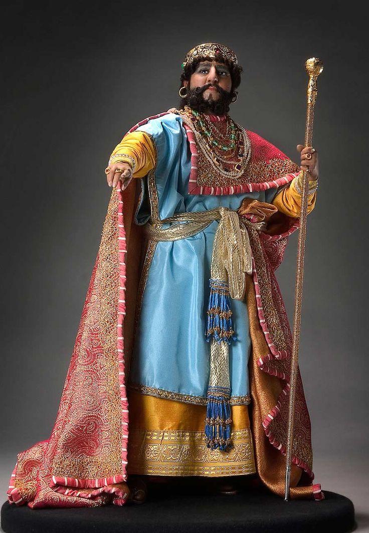 Full length color image of Herod Antipas, by George Stuart.