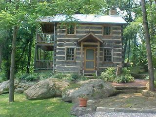 Historic Cabin On 150 Acre Farm In Amish Country. Enjoy a truly unique lodging experience in this relocated and resurrected c. 1820 log house and c. 1840 ad...