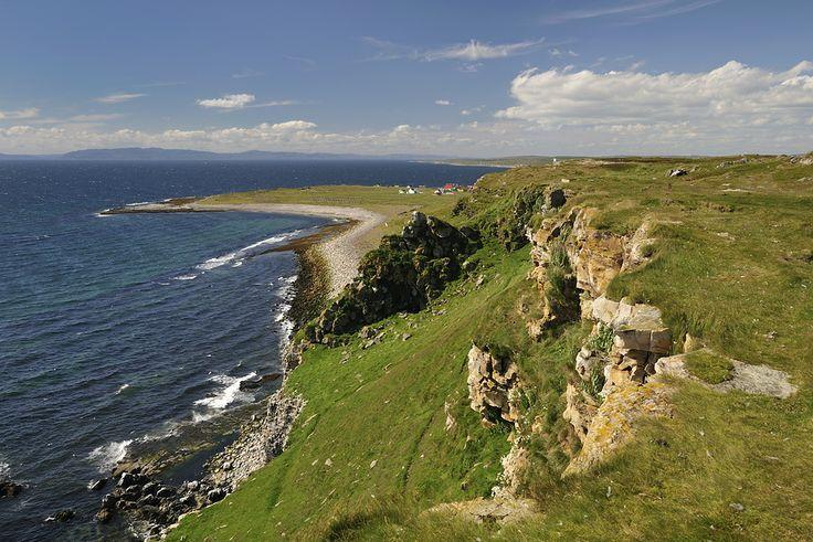 The bird cliff on the island of Ekkerøya