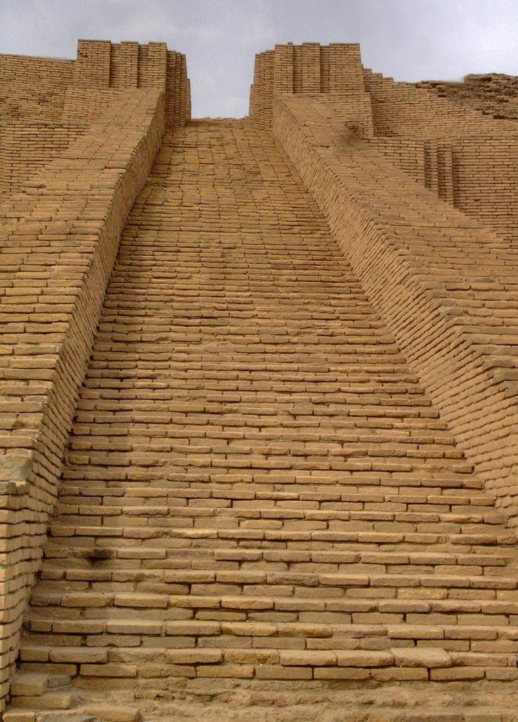 Ziggurat of Ur in ancient Iraq