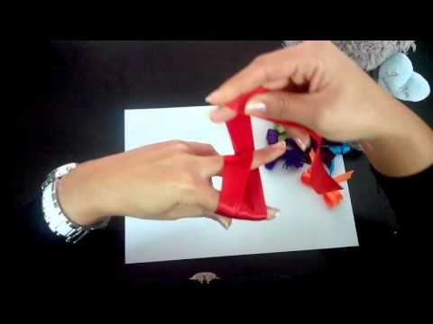 Création noeud papillon avec Ruban