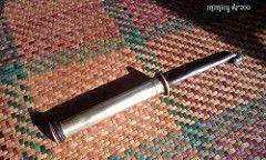 Gobek Sireh ialah merupakan sejenis alatan yang digunakan unuk menghancurkan adunan kapur,sireh,pinang dan juga gambir.Gobek digunakan bagi orang-orang tua yang sudah tidak mampu mengunyah adunan sireh tersebut.Gobek Sireh ini diperbuat daripada tembaga,namun ada juga gobek yang diperbuat daripada buluh,namun mata gobek masih lagi dari tembaga.Cuma bezanya gobek yang diperbuat daripada tembaga harganya jauh lebih mahal.