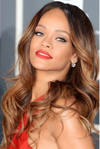 Rihanna she's super pretty wish I looked like that!!