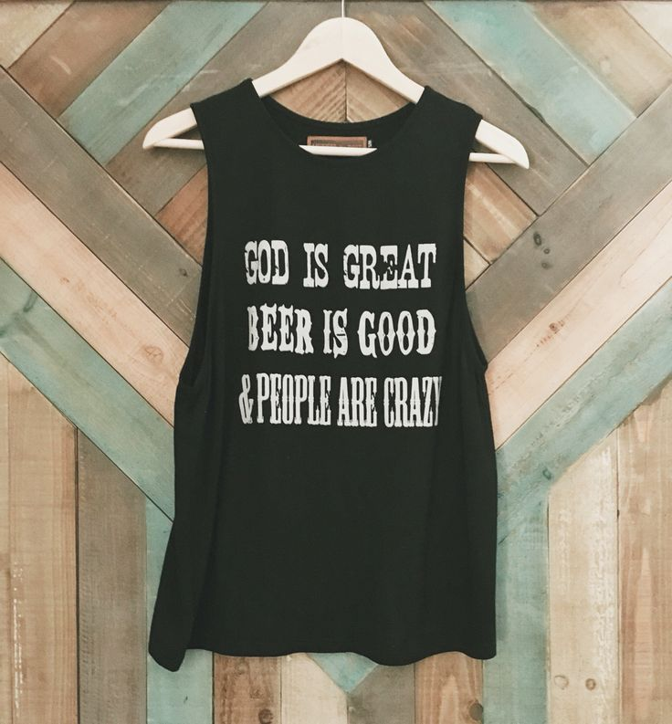 Beer is Good Tank License to Boot www.licensetoboot.com Stagecoach Outfit Country Thunder outfit country concert outfit cma fest outfit country music #countryfest