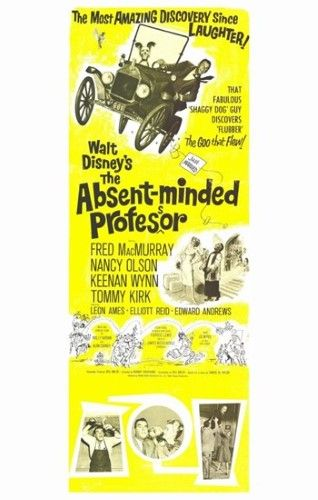 The Absent Minded Professor Movie Poster (11 x 17)