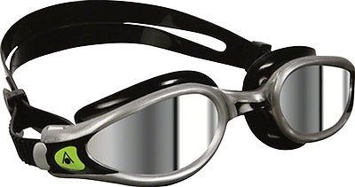 Goggles 74051: New Aqua Sphere Kaiman Exo Goggles Silver Black With Mirror Lens -> BUY IT NOW ONLY: $31.48 on eBay!