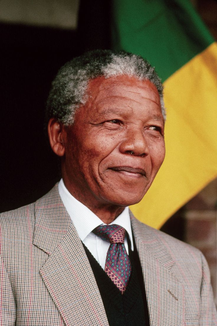 Nelson Mandela was the former South African president who was in jail for over two decades because of his protest against apartheid(The segregation in South Africa).
