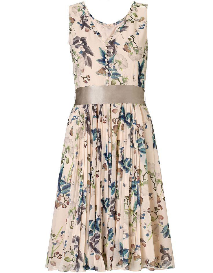 Winona Short Dress | Nude | Monsoon