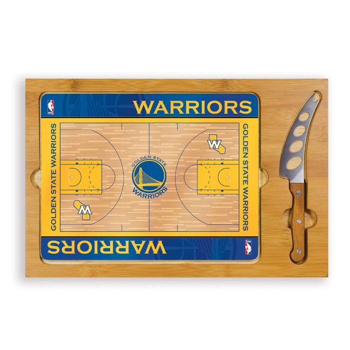 Golden State Warriors Picnic Time Icon Board & Knife Set - Golden State Warriors - Official Online Store
