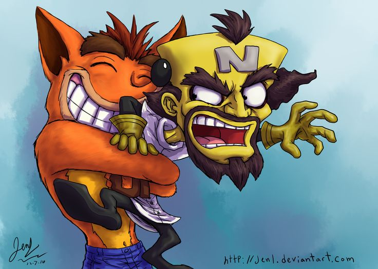 It's great to have you back, Crash! Cortex doesn't feel the same way though... It's just great to have Crash Bandicoot back in gaming. Cannot wait for the N. Sane trilogy!! My PS4 can't wait either...
