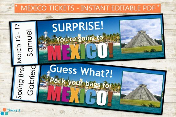 Pin by Lynn Albachten on Mexico party in 2020   Tickets to mexico