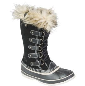 SOREL Women's Joan of Arctic Winter Boot - Combine cold-weather performance and stylish design in the SOREL® Women's Joan of Arctic winter boot. Crafted from waterproof full-grain and suede leather, the high-cut upper is topped with a faux fur snow cuff for style. A removable felt InnerBoot and a 2.5mm felt frost plug battle against the cold down to -25°F, while the herringbone outsole maximizes traction on snow and ice. For style and comfort, sport the Joan of Arctic boot.