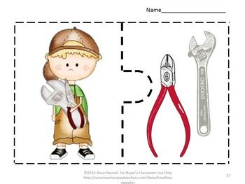 Games: This set of 16 puzzles is a fun addition to my Can I Help? Cut and Paste worksheets and Can I Help? File Folder games. It combines children's wanting to help along with their love of puzzles.
