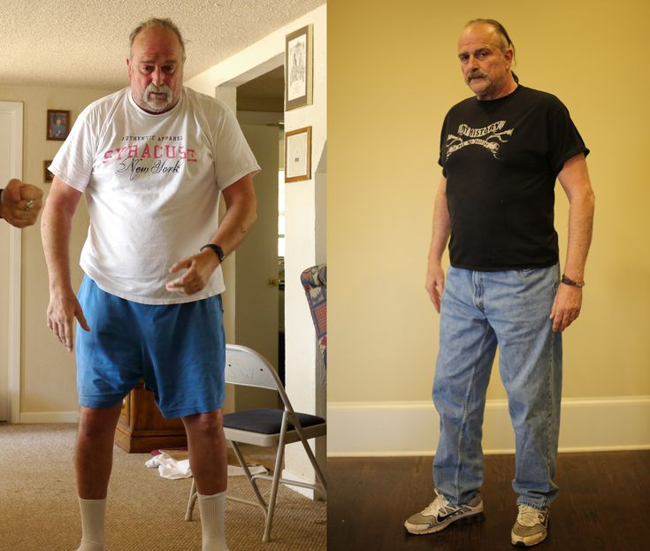 before and after photo of jake the snake roberts showing his amazing transformation under