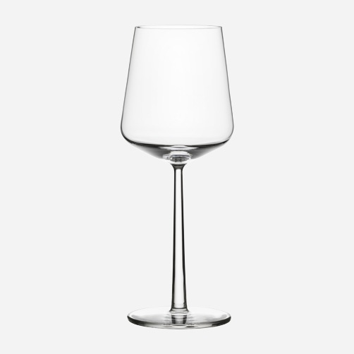 Ittala - gorgeous Finnish glass and my red wine glass of choice.