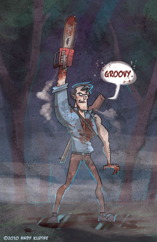 Ash Williams - Evil Dead by AndyKluthe on DeviantArt