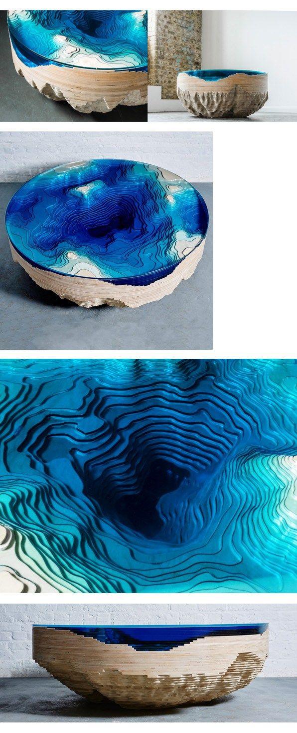 abyss horizon #table de duffy london en #modusvivendi blog #design #poesía en el #diseño #mesa