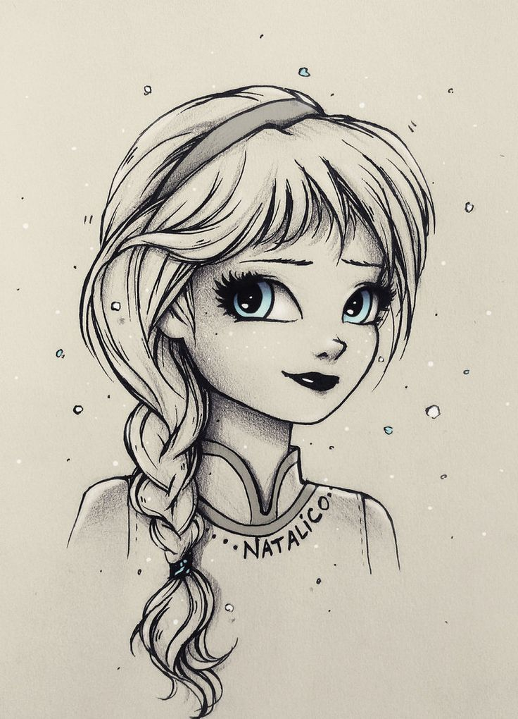 Little Elsa by natalico on DeviantArt