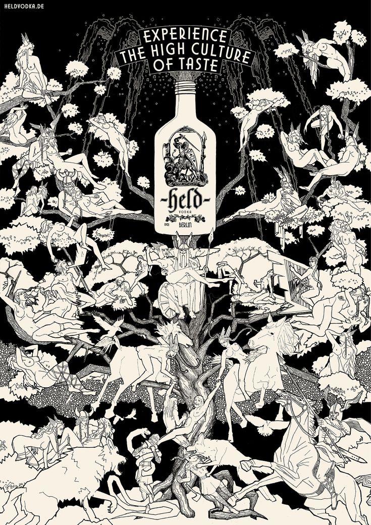 Held Vodka: Valhalla - DraftFCB, Hamburg, Germany
