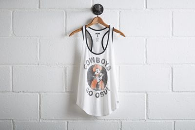 """Tailgate Women's Oklahoma State Ringer Tank by  American Eagle Outfitters 