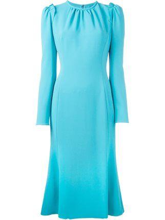 Dolce & Gabbana flared hem midi dress