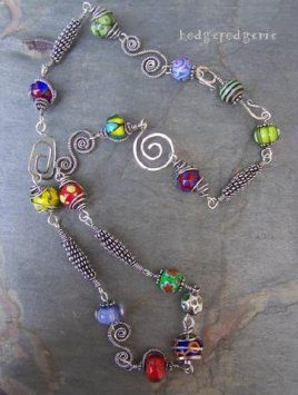 wire jewelry  like the pic- link not so much