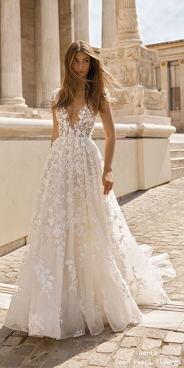 Berta Fall Wedding Dresses 2019 19-112-2 #weddings #wedding #weddingideas #wedd… – Wedding Inspiration