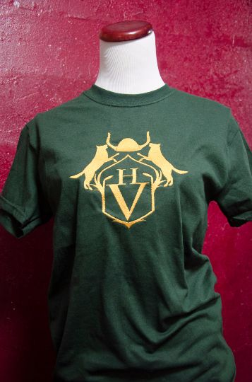 Dive into the book world of Magnus Chase with this awesome Hotel Valhalla inspired t-shirt. With this shirt you to can build a great Cos play costume to be any demi god and camp half-blood. The t-shir