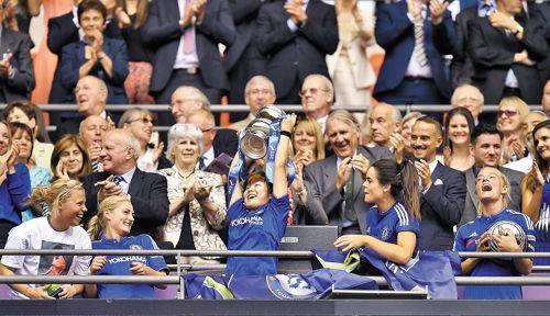 South Korean Footballer Ji So Yun Scores Goal for Chelsea Ladies Major Trophy   Koogle TV