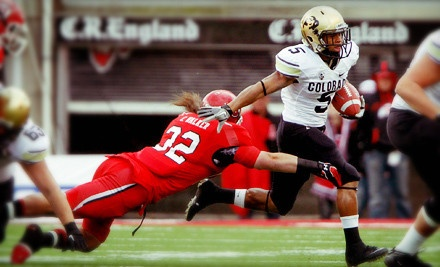 BOULDER, CO - University of Colorado Football – Folsom Field  University of Colorado Buffaloes Football Game for Two on Friday, November 23, at 1 p.m. (Up to 55% Off)
