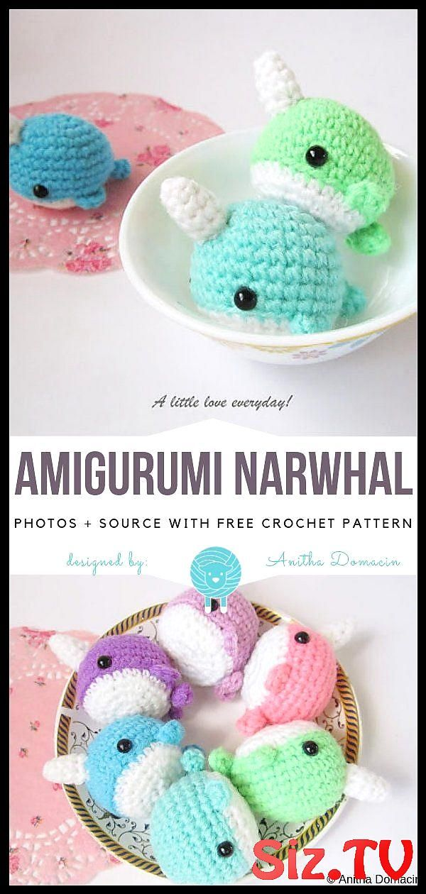 Ravelry: Narwhal pattern by i crochet things | 1260x600