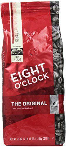 Eight O'Clock Coffee, Original Whole Bean, 42-Ounce Package - http://teacoffeestore.com/eight-oclock-coffee-original-whole-bean-42-ounce-package/