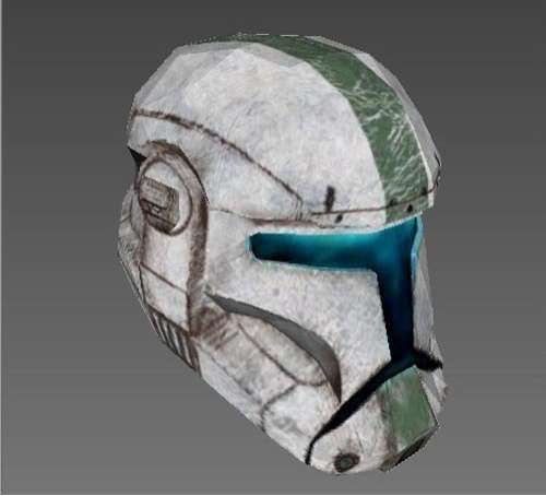 Create Your Very Own Star Wars Clone Trooper Helmet #DIY trendhunter.com