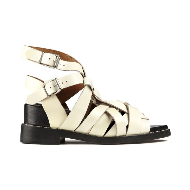 Acne Studios Acne Suede T-Strap Sandals outlet wide range of ndwNaoY5C