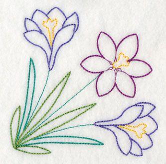 Springtime Crocus Canto (Vintage)