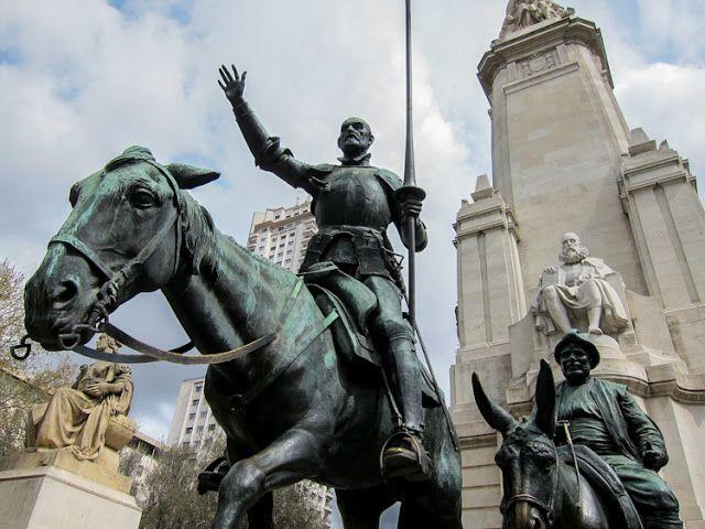 """Efemérides de Madrid. 16 de enero. """"1605.- Se publica en Madrid la primera edición del Quijote""""."""