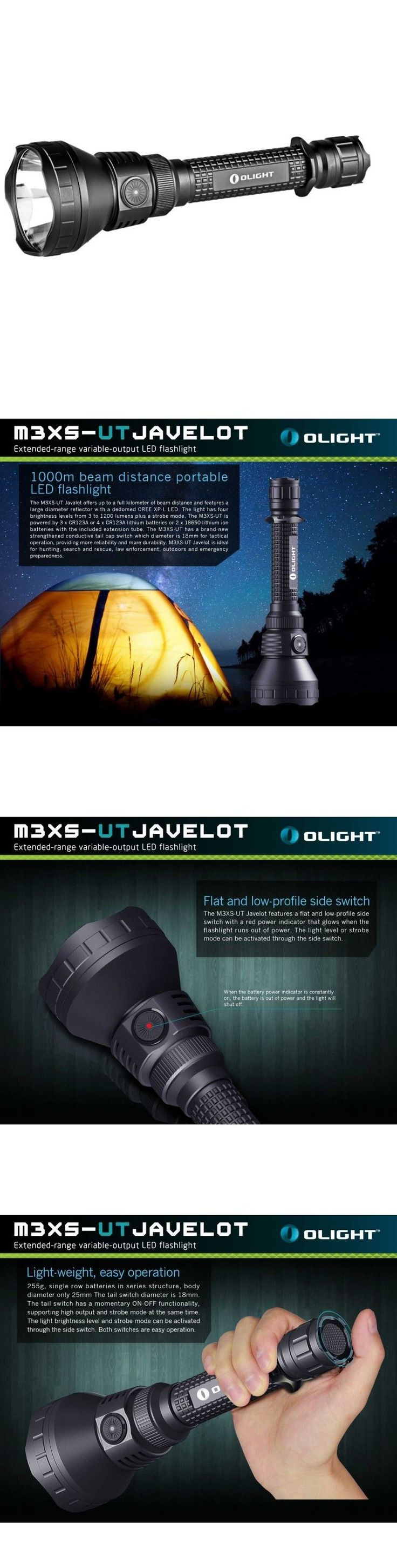 Flashlights 16037: Olight M3xs Ut Javelot Cree Xp-L 1200 Lumen Led Flashlight- Dual Switch Design -> BUY IT NOW ONLY: $149.95 on eBay!