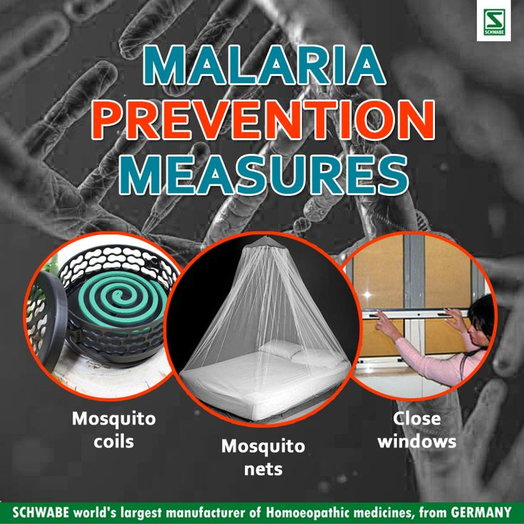 malaria causes prevention and treatments The drugs do not prevent initial infection through a mosquito bite, but they prevent the development of malaria parasites in the blood, which are the forms that cause disease this type of prevention is also called suppression.