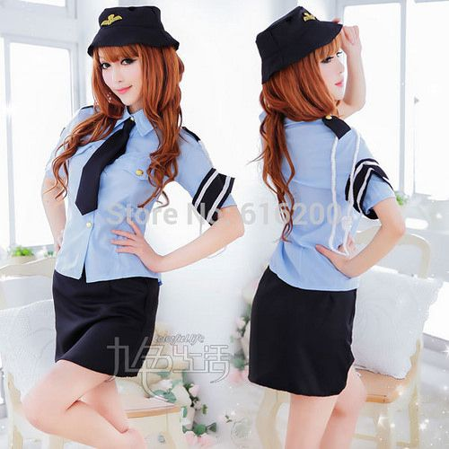 https://flic.kr/p/sfHp4c | Law-Enforcement-Costume-Women-Cop-Uniform-Costume-font-b-Police-b-font-Dress-women-sexy-lingerie
