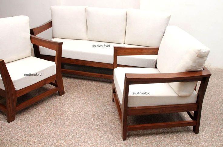 Wooden Love Seat Sofa Design ~ Best ideas about wooden sofa on pinterest