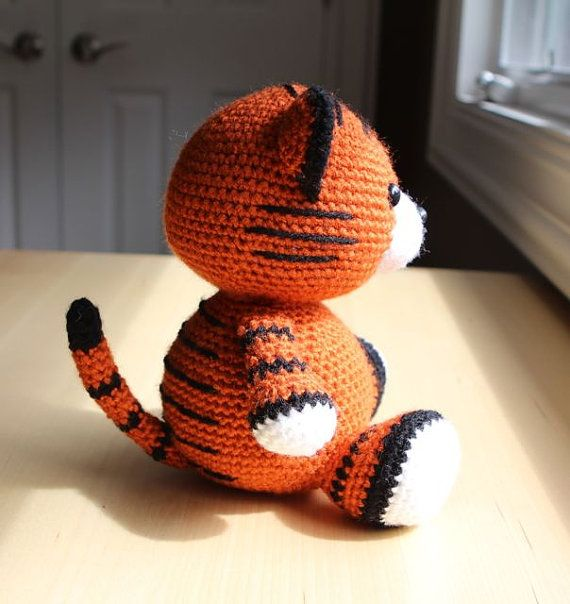 Amigurumi Crochet Pattern Cubby the Tiger by littlemuggles