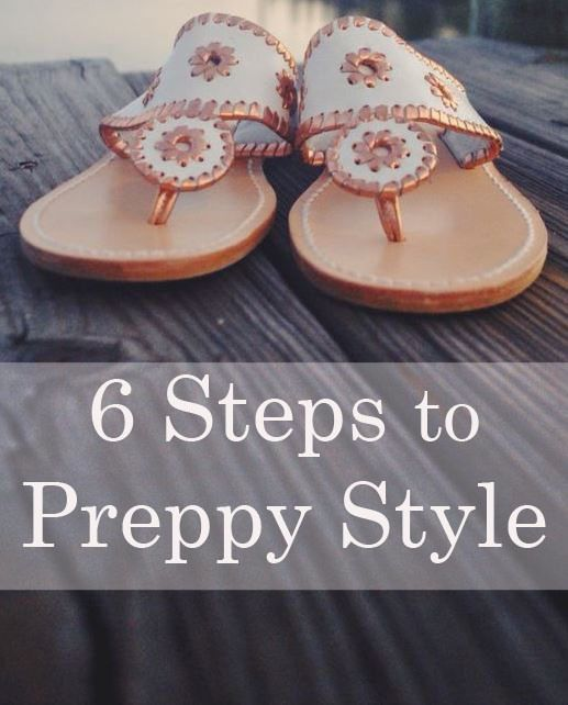 Six Simple Steps to the Perfect Preppy Wardrobe!