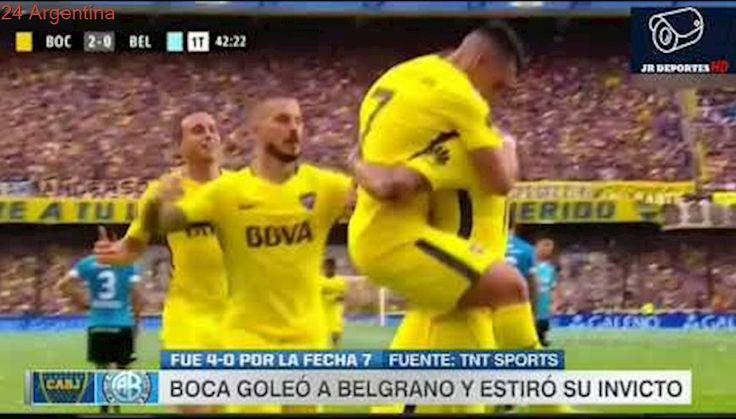 Boca vs Belgrano 4-0 || Resumen HD || Fecha 7