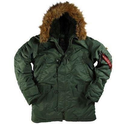 Куртка аляска alpha usa