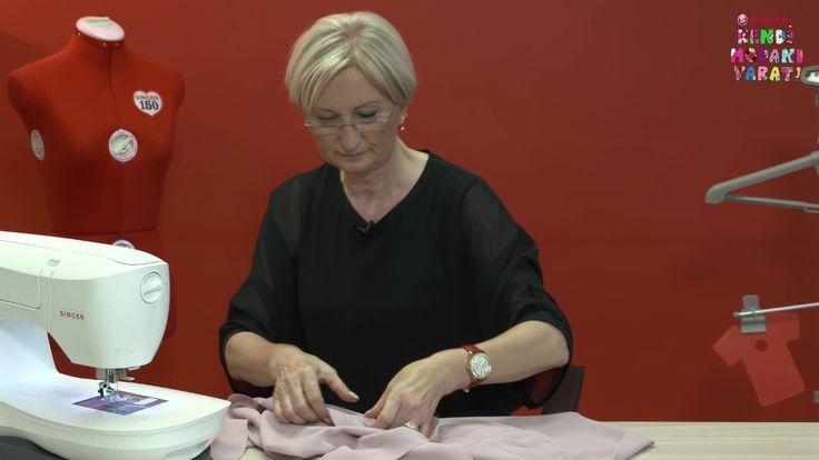 Kendi Modanı Yarat - Pileli Bluz Yapımı