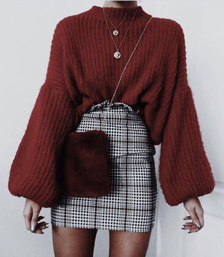 45 Wunderschöne Herbst-Outfits für den Shop 3/044 #Fall #Outfits