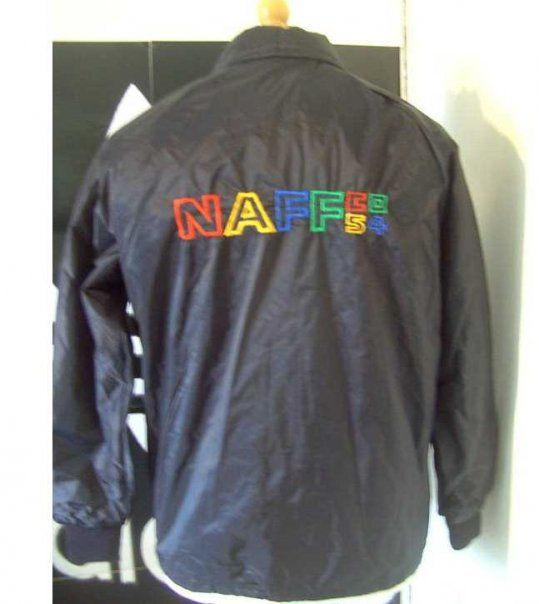Naff co jacket - I didn't have one but I remember loads of people wearing them