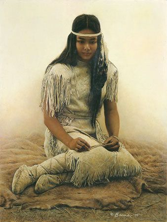 Little Star, (Cherokee)-many contemporary indigenous American tribes are black people who have been mixed with Mongolians and Europeans.